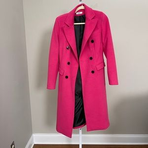 Jijil hot pink coat